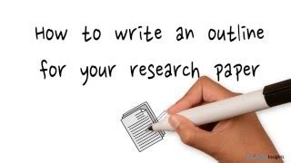 Writing approach for research paper